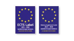 ECTS European Credit Transfer System Label 2013 - 2016 und Diploma Supplement Label