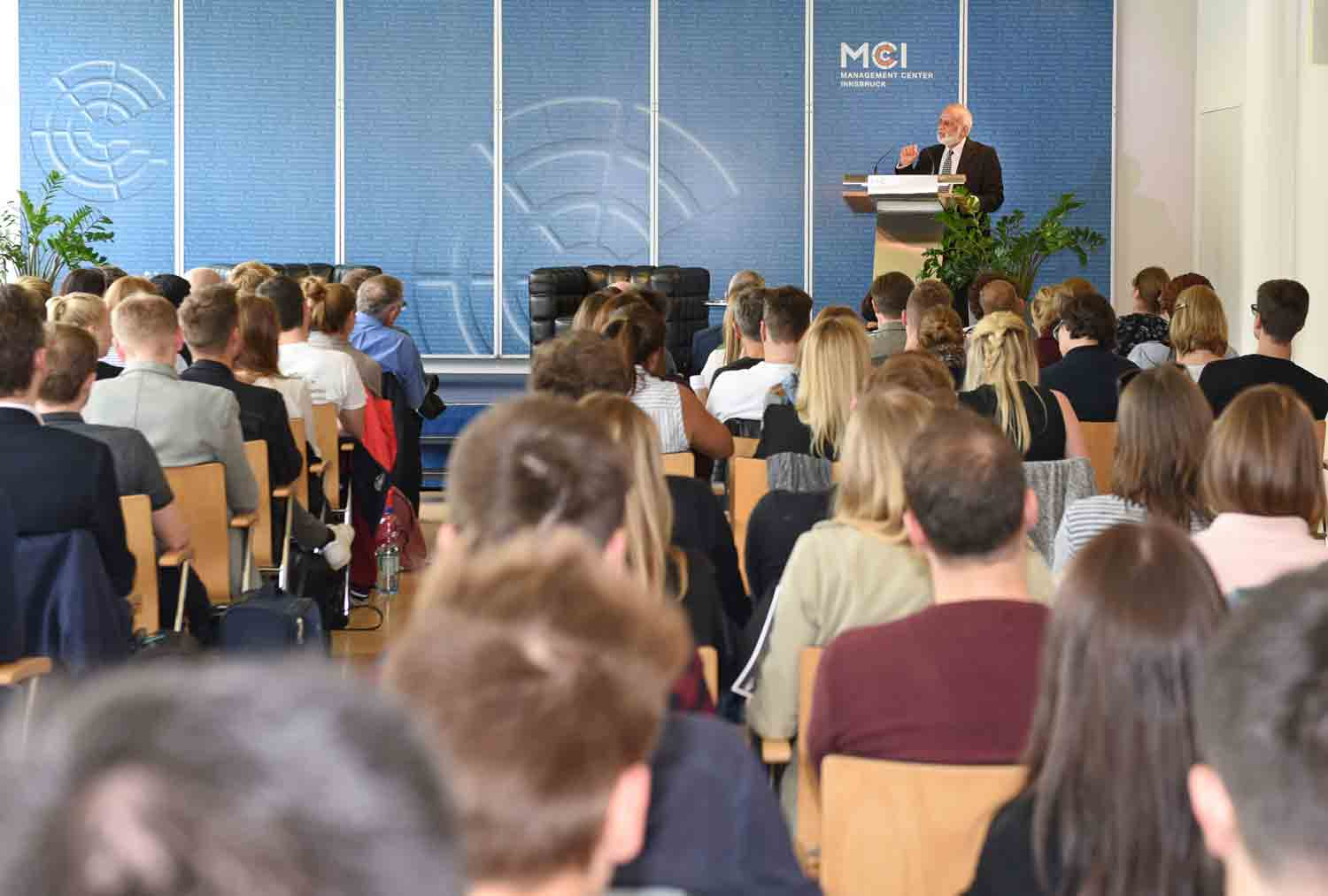 Since the beginning of the academic lecture series, around 500 personalities of distinction have graced the MCI. Photo: MCI