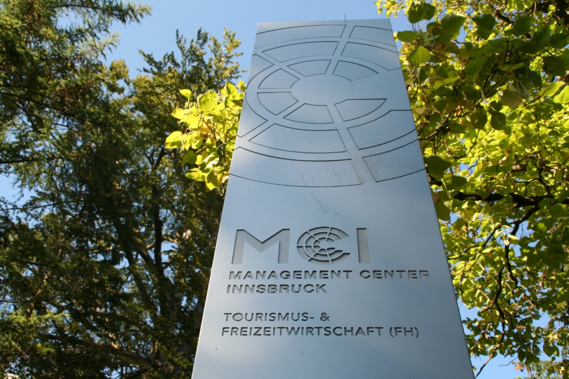 "As the only Master Degree program in Austria MCI's  'Entrepreneurship & Tourism"" has been listed in the internationally renowned Worldwide Ranking of EDUNIVERSAL. Photo: MCI"